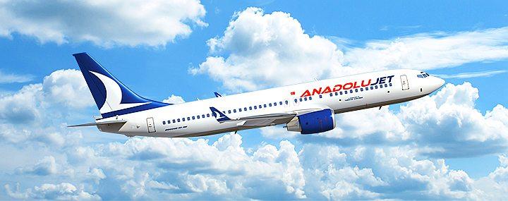 Авиакомпания Анадолу Джет авиабилеты официальный сайт